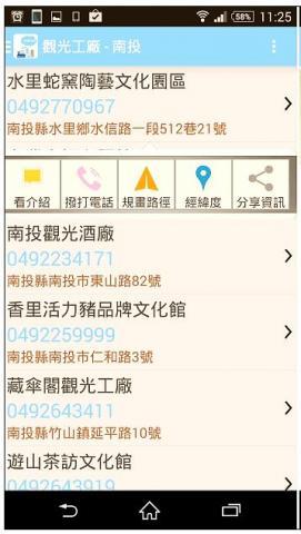 全台灣觀光工廠 – 觀光景點示意圖02